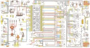 Схема электрооборудования ВАЗ-2104 (ВАЗ-21043)