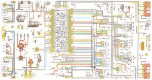 Схема электрооборудования ВАЗ-2105 (ВАЗ-21053) с генератором 37.3701