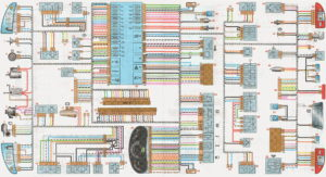 Схема электрооборудования lada kalina