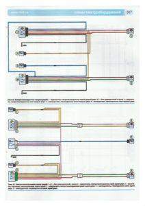 Схема электростеклоподъемников передних и задних дверей лада ларгус