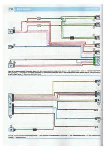 Схема цепей центрального замка, схема системы отопления и вентиляции салона лада ларгус