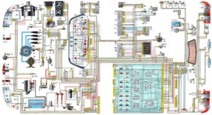 Электросхема ВАЗ 2110, 2111 и 2112
