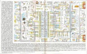 Электрическая схема автомобилей ваз 21099 1998-2000 гг. выпуска с «европанелью» приборов (с карбюратором, монтажным блоком 2114-3722010-10 или 2114-3722010-18)